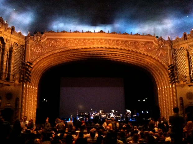 Proscenium arch of the Phoenix Orpheum Theatre