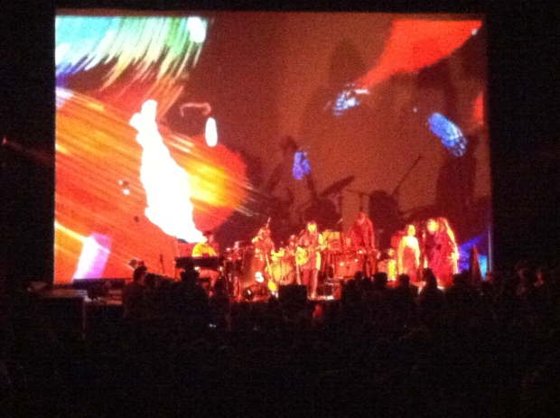 Feist performing at the Orpheum theatre in Phoenix
