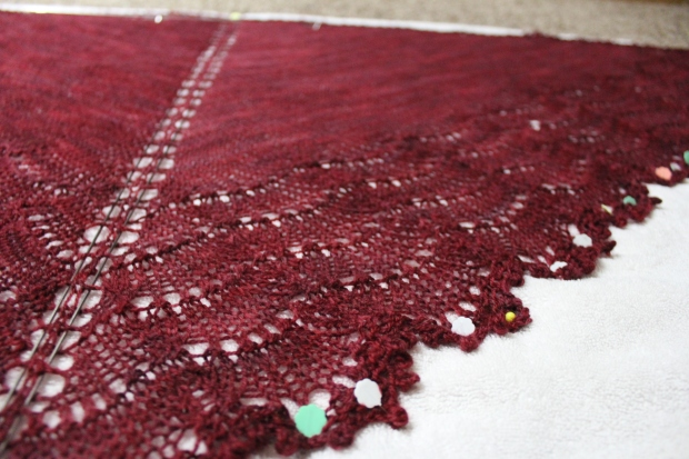 This lace pattern looks very involved, but believe me--it's not.