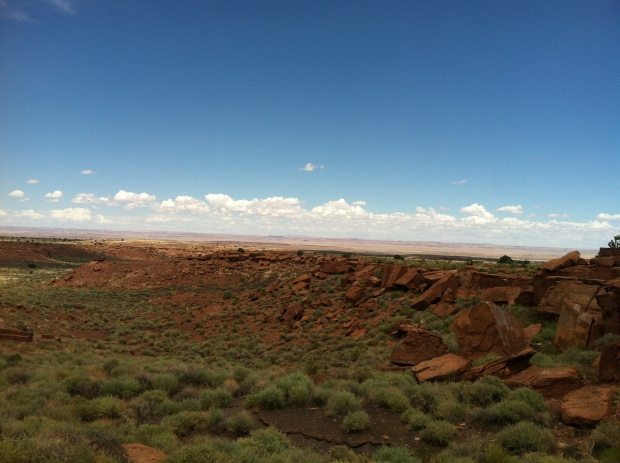 Horizon at Wupatki National Monument