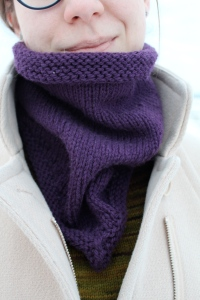 Purple Bandana Cowl