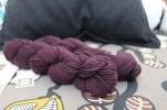 Shibui Dune yarn in velvet purple