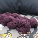 Shibui Dune yarn in velvet purple