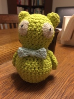 Crocheted Kuchi Kopi rattle